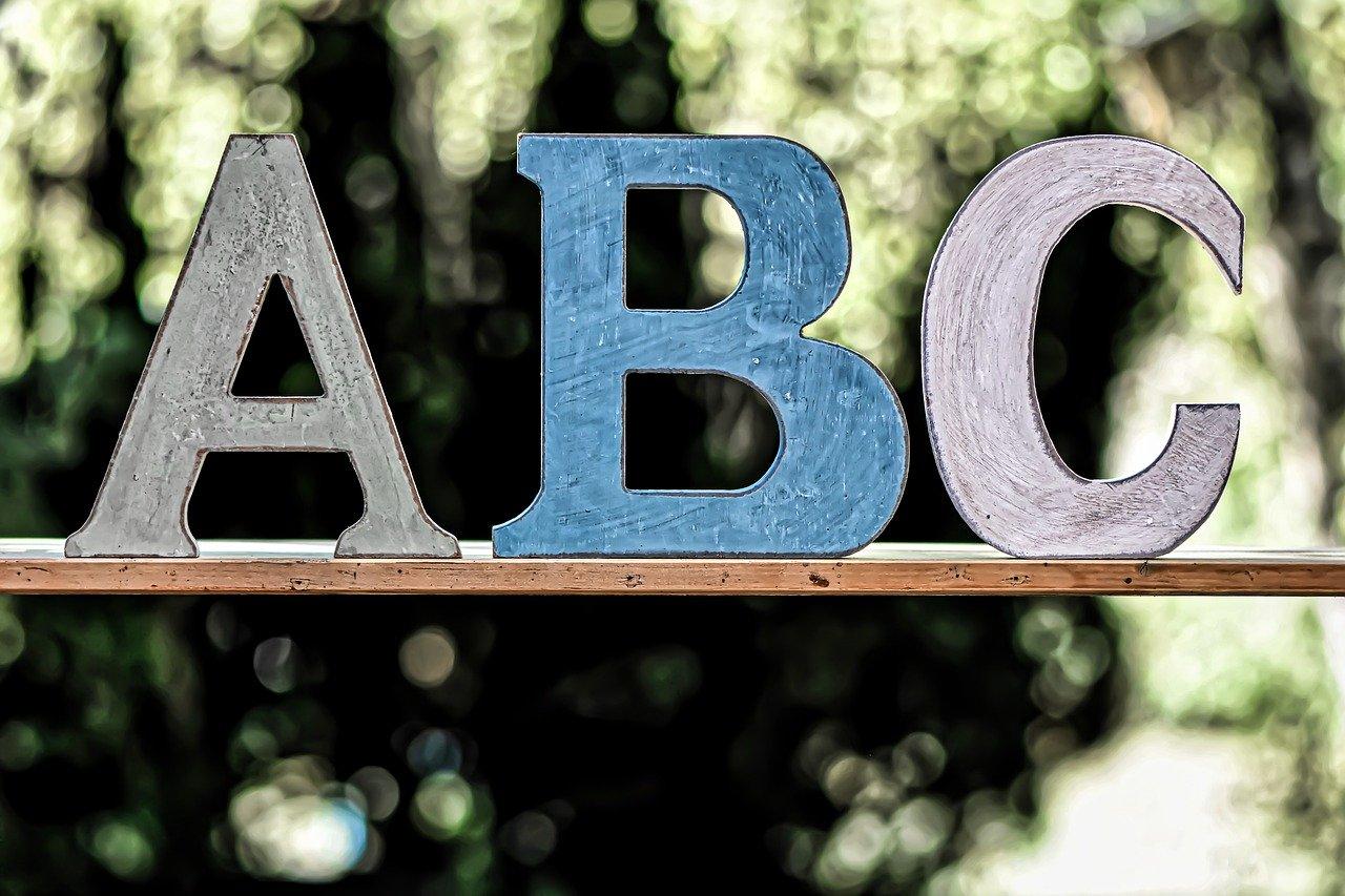 abc, school, child